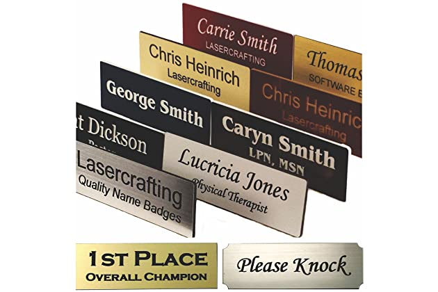 Best name tags for business | Amazon com