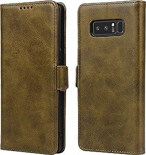 SailorTech Portemonnee Lederen Hoesje voor Samsung Galaxy Note 8, Premium PU Lederen Hoesjes Folio Flip Cover met Kickstan...
