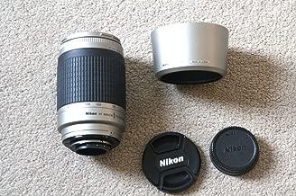 Nikon 70-300mm f/4-5.6G AF Telephoto Nikkor Lens with HB-26 Hood (Silver) - International Version (No Warranty)
