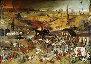 Gifts Delight Laminated 17x12 Poster: Pieter Bruegel The Elder - New Research maps The Devastation of The Black Death on Medieval England