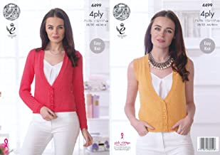 ladies 4ply knitting patterns
