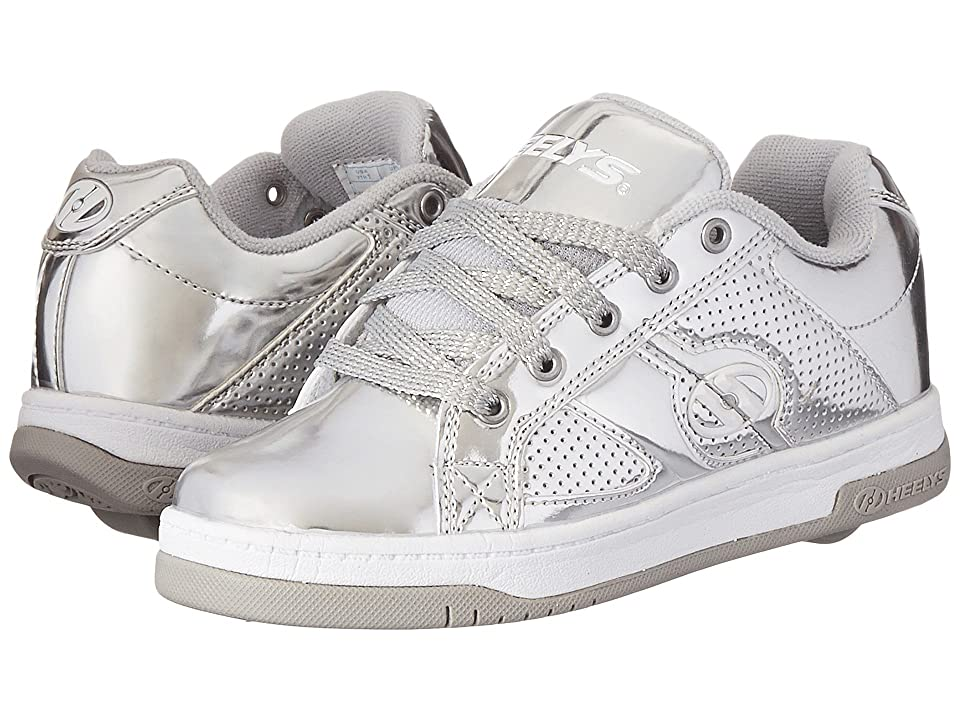 Heelys Split Chrome (Little Kid/Big Kid/Adult) (Silver/Chrome) Girl