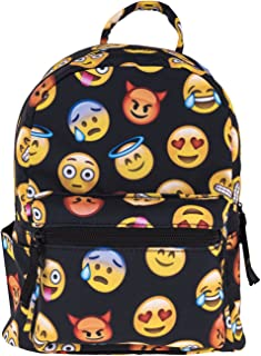 big emoji backpacks
