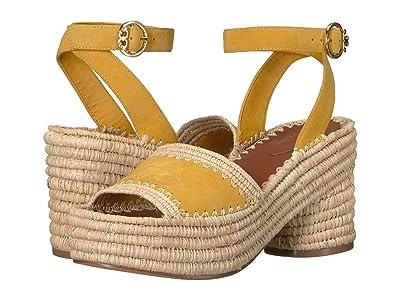 Tory Burch 90 mm Arianne Platform Sandal (Daylily) Women