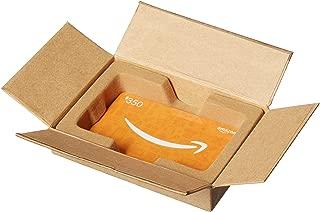 Amazon.com $350 Gift Card in a Mini Amazon Shipping Box (Amazon Icons Card Design)