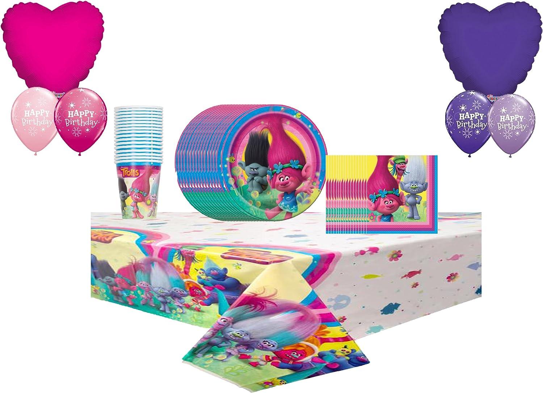 Partysupplybyspursgrl Trolls Mega Decoration Balloon 16 Pack G 送料無料新品 大人気