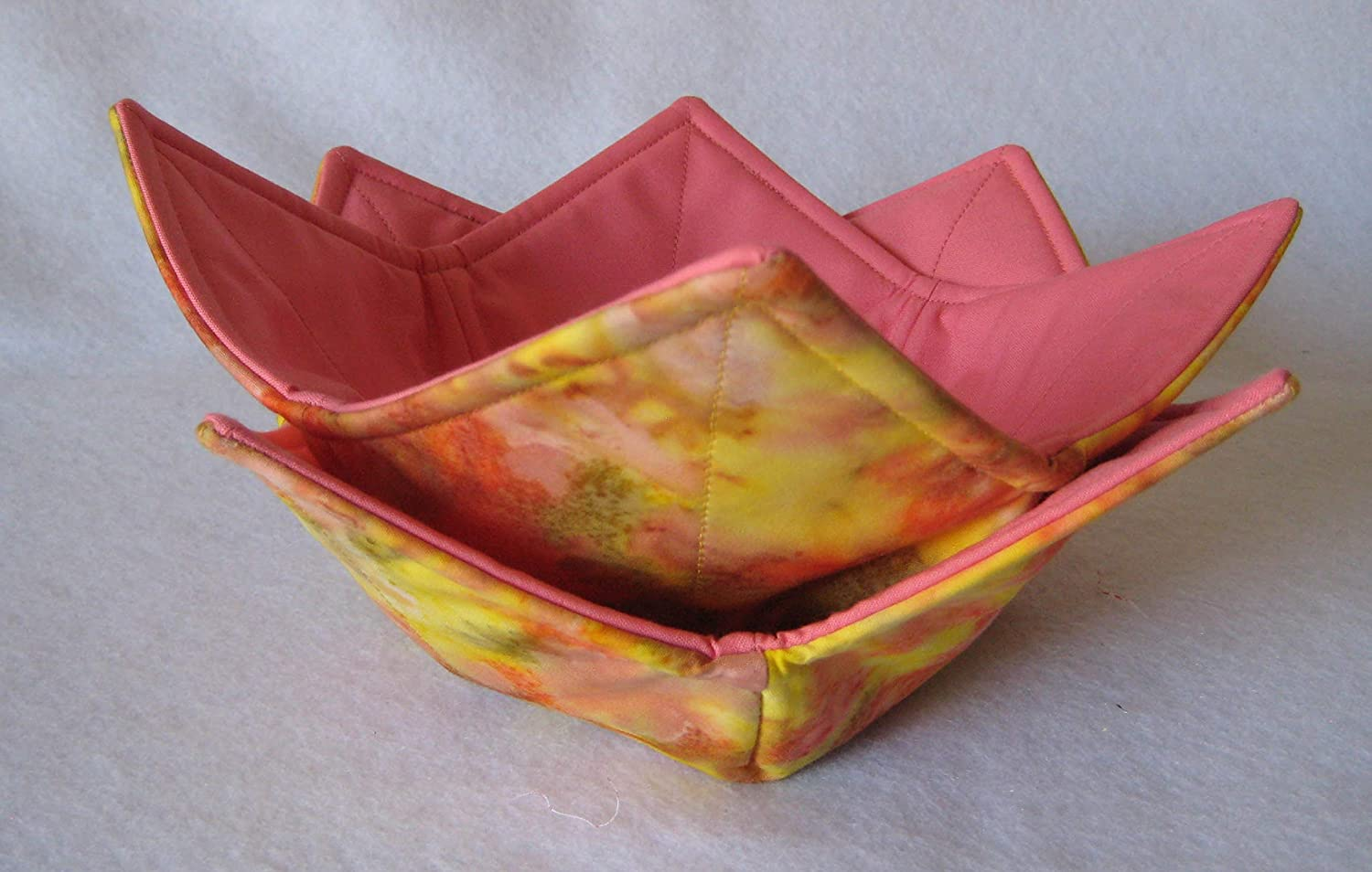Bowl Ranking TOP16 Cozies All safety Cotton Reversible Lovely Safe Microwave Rose