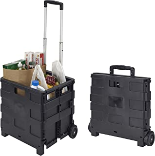 Simplify Tote & Go Collapsible Utility Cart, Black