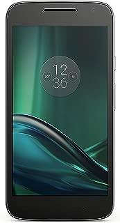 Motorola Moto G Play 4th Generation 16GB Unlocked GSM 4G LTE Android Smartphone w/ 8MP Camera (Black) (Renewed)