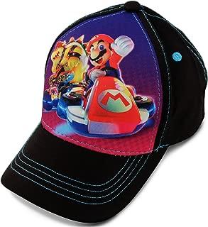 Nintendo Little Boy's 3D Pop Baseball Cap, Featuring Super Mario, Age 4-7