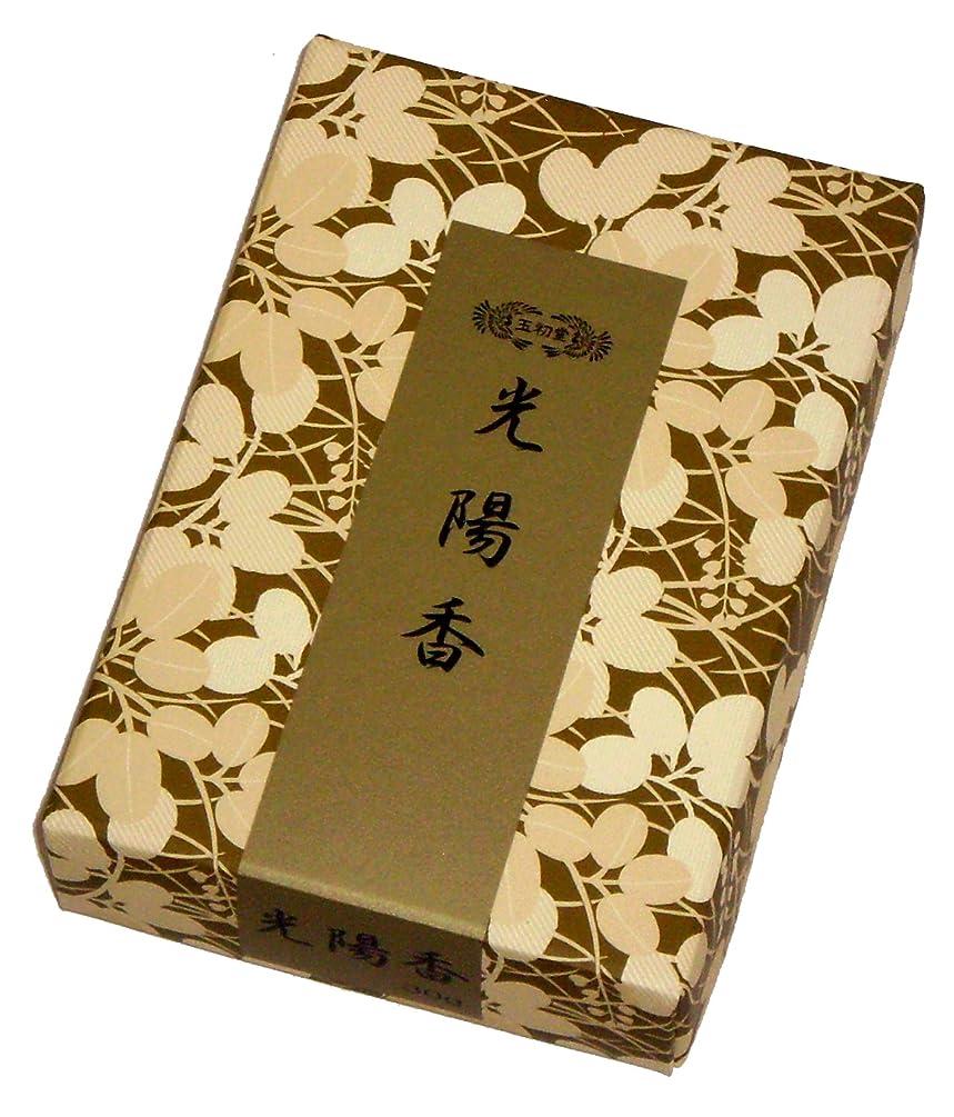 偉業コークスアンケート玉初堂のお香 光陽香 30g #665