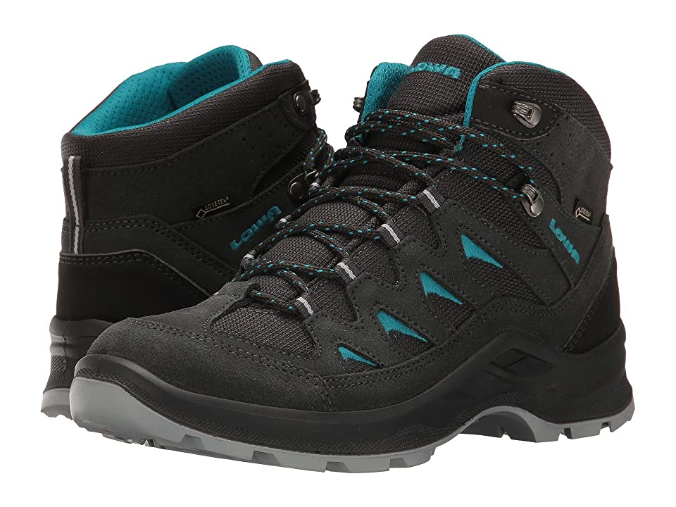 ae1ff7e5 Lowa Levante GTX QC (Anthracite/Turquoise) Women's Shoes