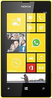 Nokia Lumia 520 8GB Unlocked GSM Windows 8 OS Cell Phone - Yellow