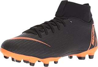 Nike Junior Superfly 6 Academy GS MG Soccer Cleats-Black Size: 6Y