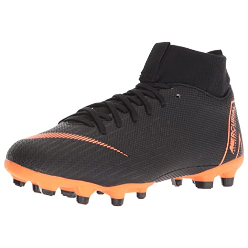e3b6ec45c Nike Junior Superfly 6 Academy GS MG Soccer Cleats-Black Size  5Y