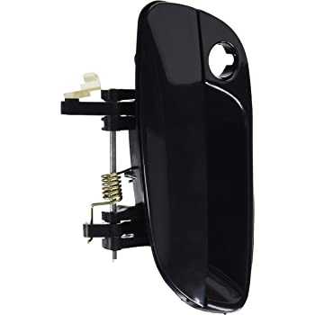 Front Left Outside Door Handle For 01 02-06 Hyundai Elantra Smooth Black B3993
