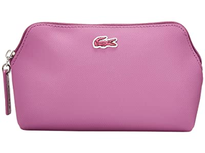 Lacoste L.12.12 Concept Make-Up Pouch (Indian/Silver) Travel Pouch