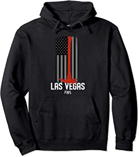 Las Vegas Nevada Fire Rescue Department Firefighter Duty Pullover Hoodie