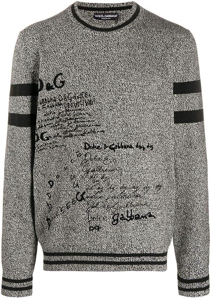 dolce & gabbana luxury fashion,maglione per uomo,in lana 100% gxa63tjaw1zs9000