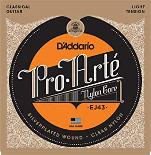 D'Addario Pro-Arte Nylon Classical Guitar Strings, Light Tension (EJ43)