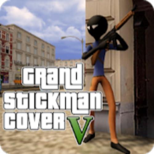 Grand Stickman Cover Auto V