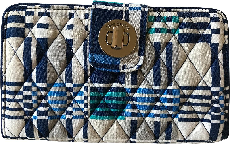 Vera Bradley National products Max 78% OFF Women's Rfid Turnlock Wallet Siz Woven Santiago One