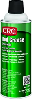 CRC Heavy-Duty Red Grease, 11 oz
