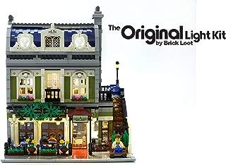 Brick Loot Lighting Kit for Your Lego Parisian Restaurant Set 10243 (Lego Set NOT Included)