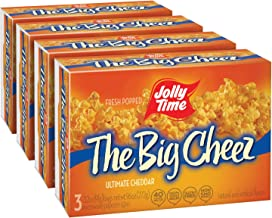 product image for JOLLY TIME The Big Cheez Gourmet Cheddar Cheese Microwave Popcorn (3-Count Box, Pack of 4)