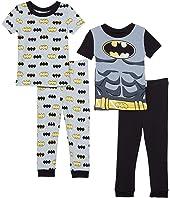 Batman Short Sleeve Four-Piece Cotton Set (Toddler)