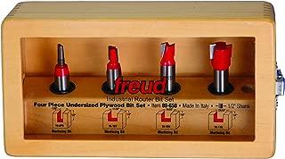 Freud 4 Piece Undersized Plywood Bit Set (1/2
