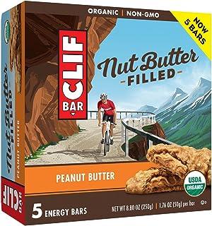 CLIF Bar Peanut Butter Filled Energy Bars 8.8oz, pack of 1