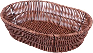 Malabar Fiber Chapati/Roti Basket Oval for Serving, Fruits, Vegetable Basket for Table, Home & Kitchen Tray (Oval)
