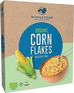 Wholesome Organic Corn Flakes , Gluten free , 225 grams