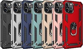Aikutaysa Xiaomi Redmi K40/K40 Pro/Mi 11i/Poco F3 用 ケース リング付き カバー ケース 耐衝撃 頑丈 TPU+PC スタンド機能付き 車載ホルダー対応 二重構造 バンパーケース 携帯カバー 耐摩擦