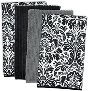 DII Microfiber Multi-Purpose Cleaning Towels Perfect for Kitchens, Dishes, Car, Dusting, Drying Rags, 16 x 19