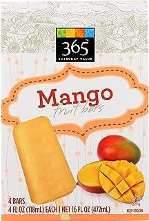 365 Everyday Value, Mango Fruit Bars, 4 ct, (Frozen)