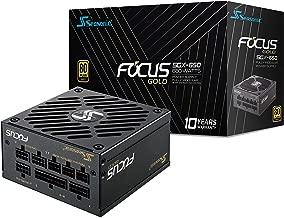 Seasonic Focus SGX-650 650W 80+ Gold SFX 12 V/ATX 12 V Full Modular Compact 125 mm Size Power Supply w/120mm FDB Fan 10 Year Warranty SSR-650SGX