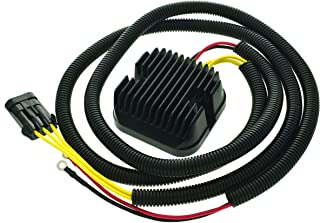 Line length 59in Mosfet Voltage Regulator Rectifier For Polaris Ace 570 / Sportsman 325 / RZR 570 900 1000 XP/RZR 4 900 1000 2012-2016, 4013247 4013904 4014029 4015229