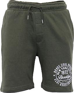 Brave Soul Men's Shorts 69TRACK Khaki X Large