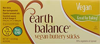 Earth Balance, Vegetable Oil Buttery Sticks, 4 Count, 16 oz