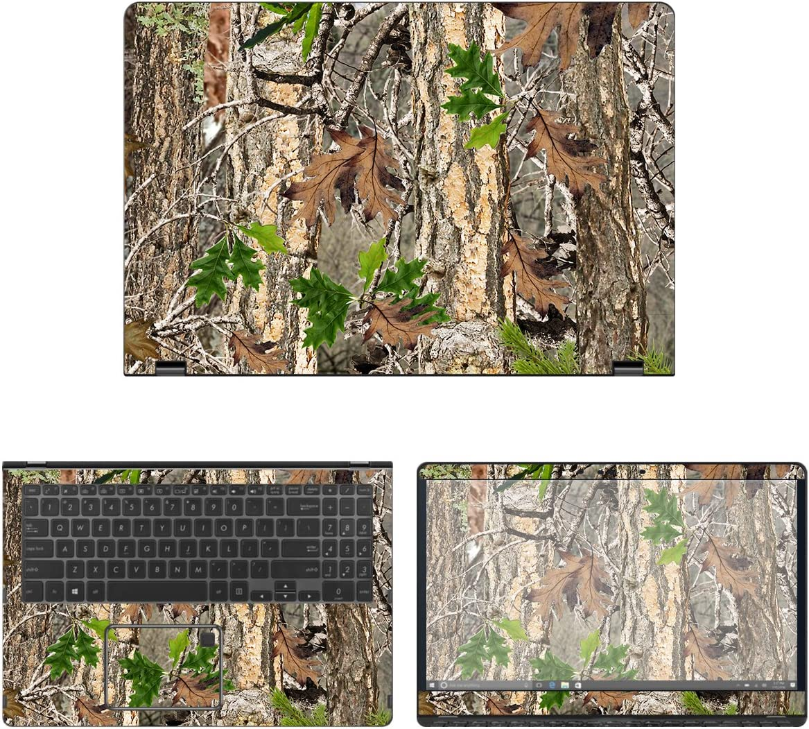 decalrus - Protective Bombing free shipping Decal Camo Skin Q525UA for Asus Sticker Long-awaited 2-