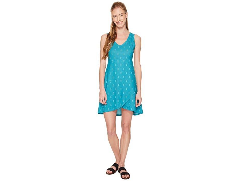 FIG Clothing Axa Dress (Obsidian Turquoise) Women