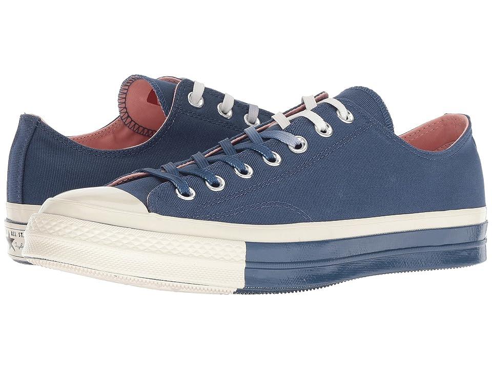 Converse Chuck 70 Super Color Block Ox (Mason Blue/Mason Blue/Egret) Shoes
