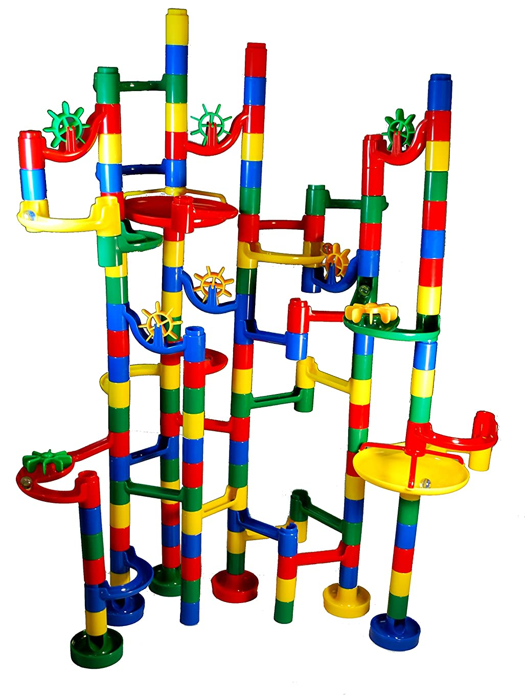 MMP Living Marble Madness - Super Deluxe 120 pc. Marble Run