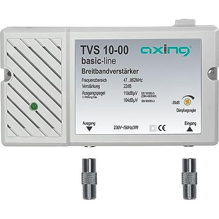 Axing Tvs 10 00 Breitband Verstärker Für Kabelfernsehen Elektronik
