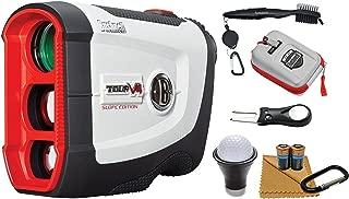 Bushnell Tour V4 Shift Patriot Pack 201760P Laser Golf Rangefinder and Wearable4U All-In-One Golf Tools Bundle