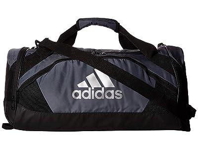 adidas Team Issue II Small Duffel (Onix/Black) Duffel Bags