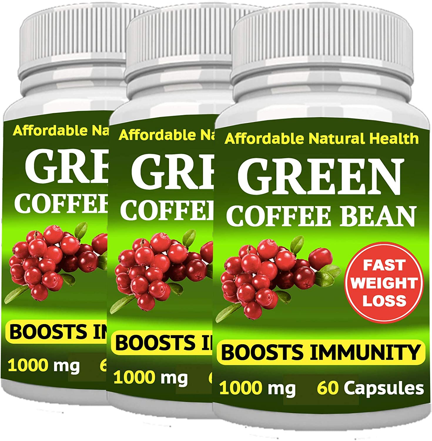 Portland Mall Green Coffee Bean Extract - Weight Natural Loss Max 81% OFF Supplement All