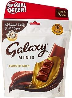Galaxy Chocolate Mini Bars 225 g (Pack of 2)
